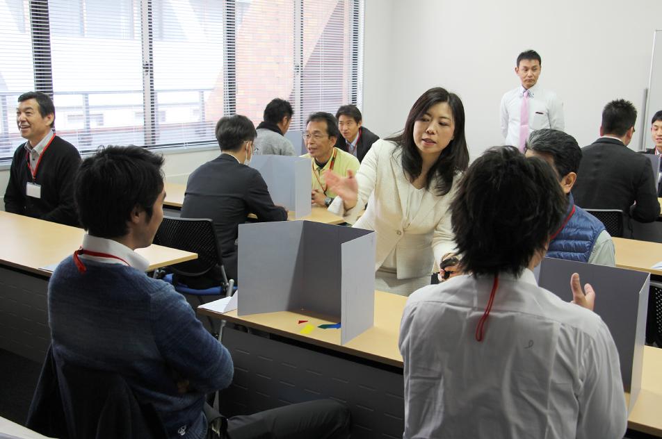 コミュニケーション能力認定講座の様子